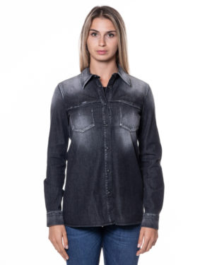 DONDUP CAMICIA DUDC211DS0258BV5 NER-1